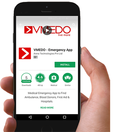 VMEDO App in Playstore Image